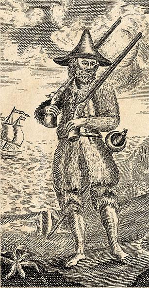 Illustration Of Robinson Crusoe
