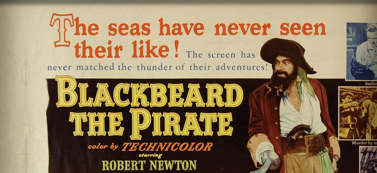 Blackbeard The Pirate Film Poster