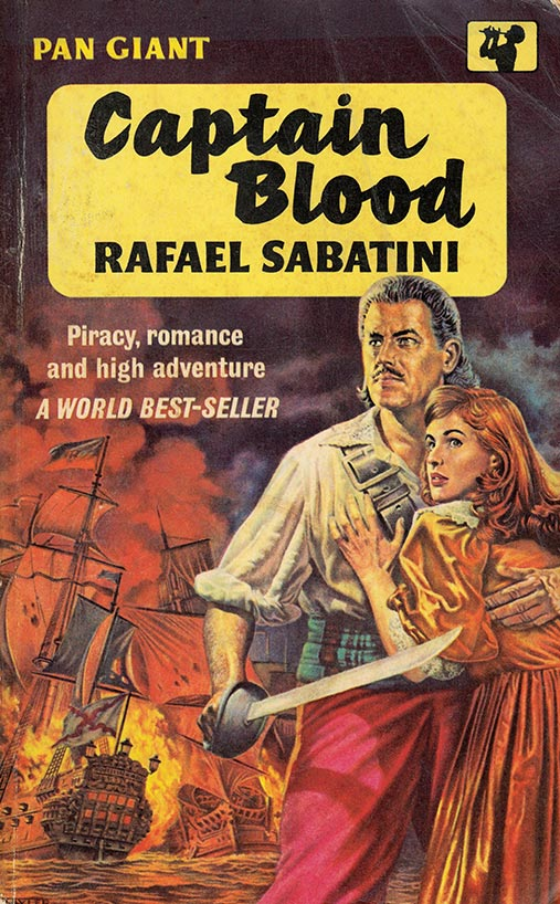 Captain Blood Book Cover