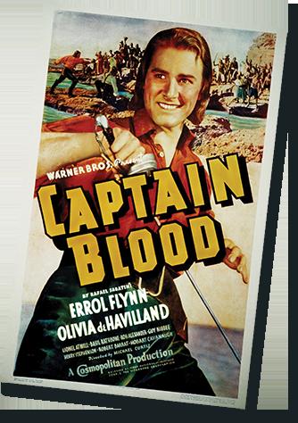 Captain Blood Film Poster