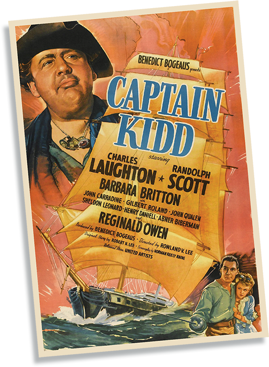 Captain Kidd Film Poster