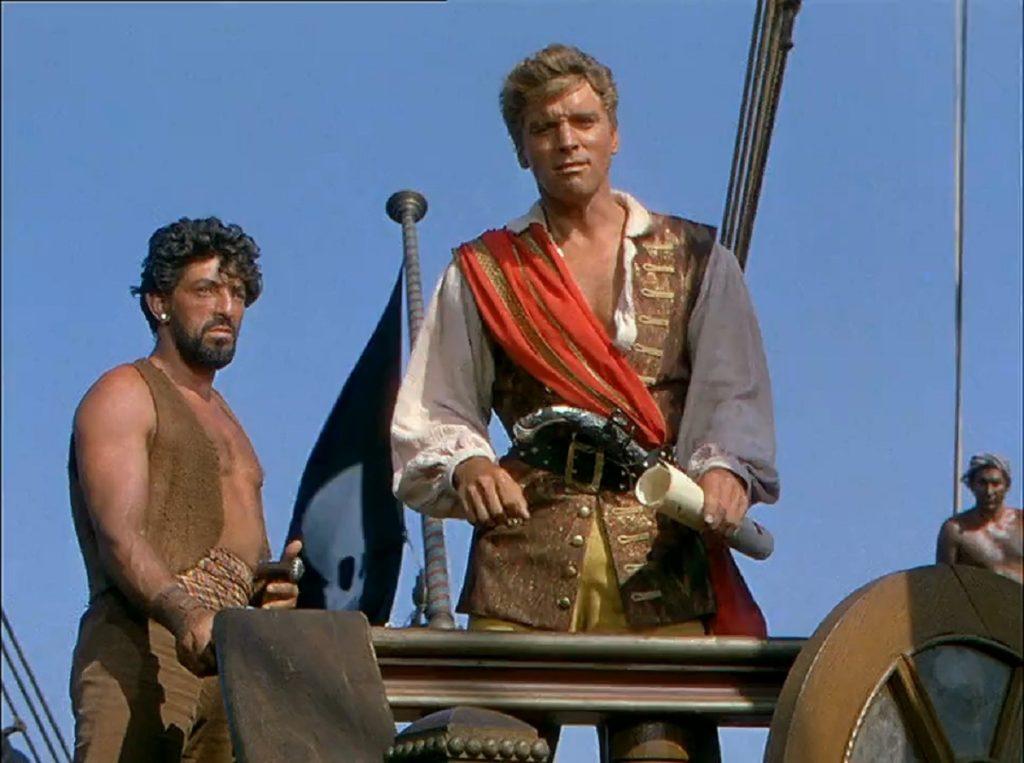 The Crimson Pirate Film Scene