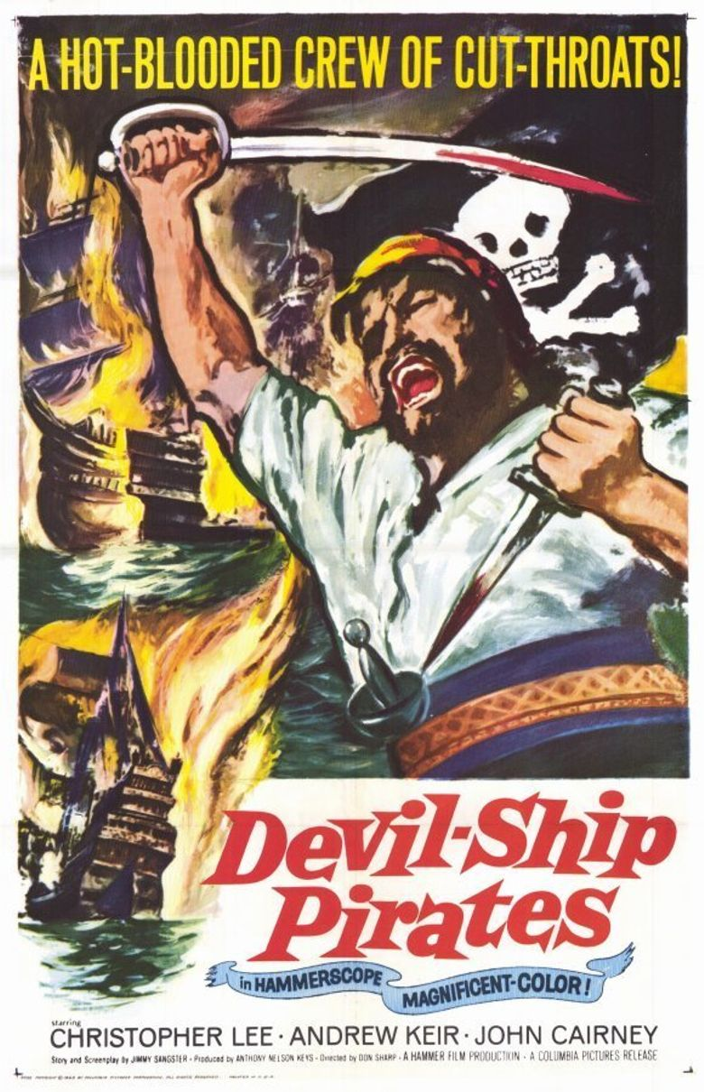 The Devil-Ship Pirates Film Poster