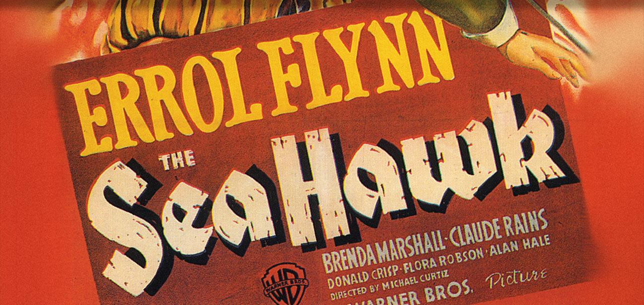 Errol Flynn The Seahawk Film Poster