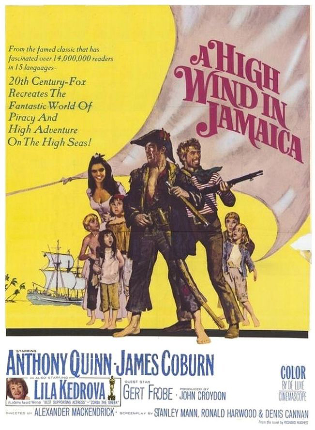 High Wind In Jamaica Film Poster