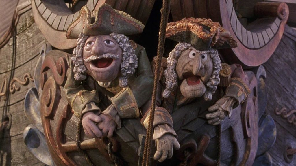 Muppet Treasure Island Film Scene