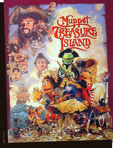 Film poster for Muppet Treasure Island
