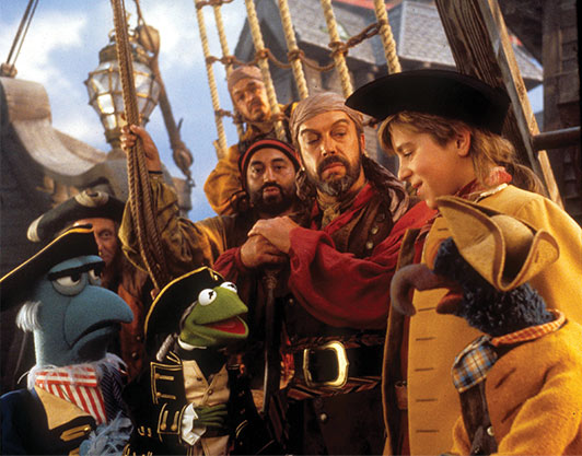 Muppets Treasure Island Scene