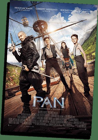 Pan 2015 Film Poster