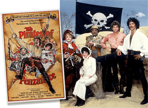 1981 production of Pirates of Penzance by Joseph Papp