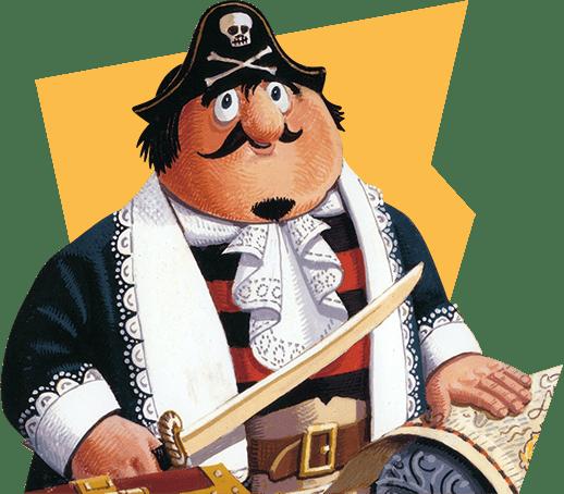 Illustration of Captain Pugwash