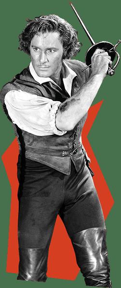 Errol Flynn as Geoffrey Thorp
