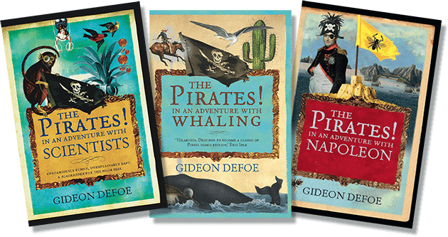 The Pirates! Book Covers