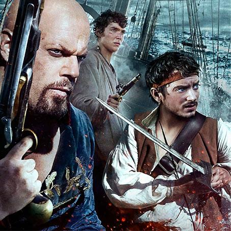 2012 Treasure Island mini series featuring Eddie Izzard as Long John Silver