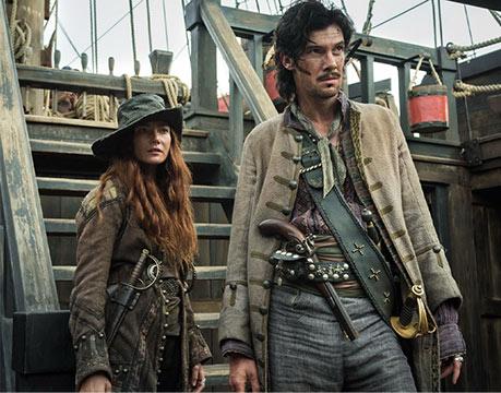 Scene from Black Sails movie
