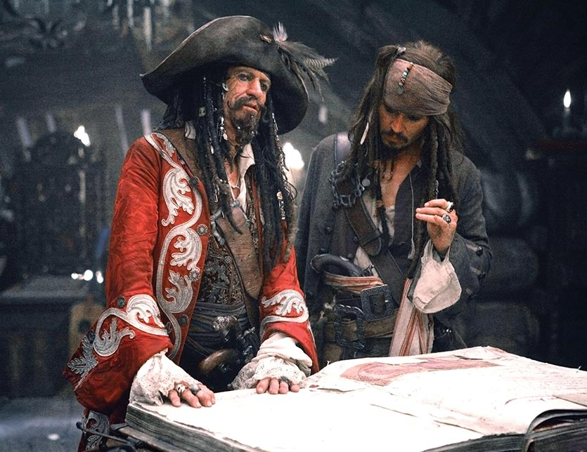 Pirates of the Caribbean - At Worlds End Film Scene