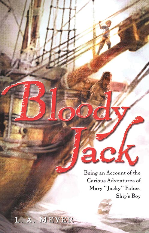 Bloody Jack Book Cover