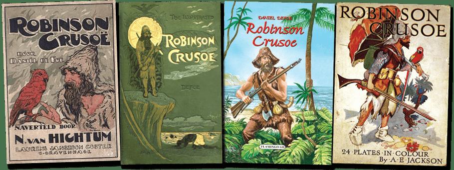 Robinson Crusoe Book Covers