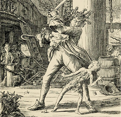 Illustration of Captain Hook