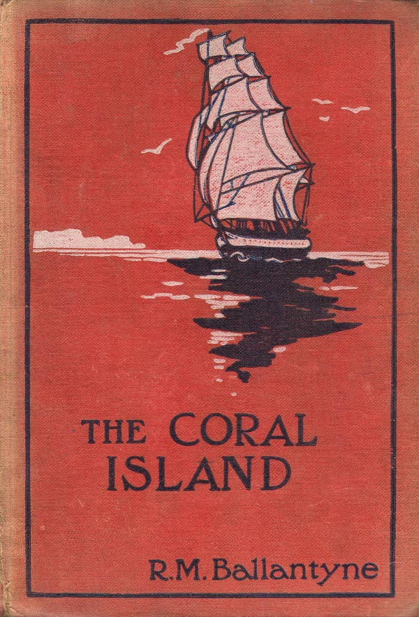 The Coral Island Book Cover
