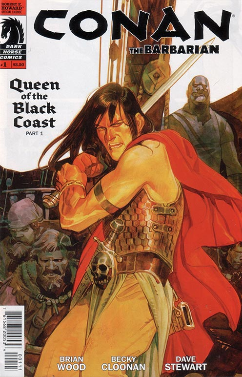 Conan Queen Of The Black Coast Book Cover