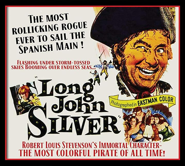 Long John Silver Film Poster
