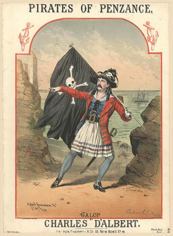 The Pirate King from Pirates of Penzance