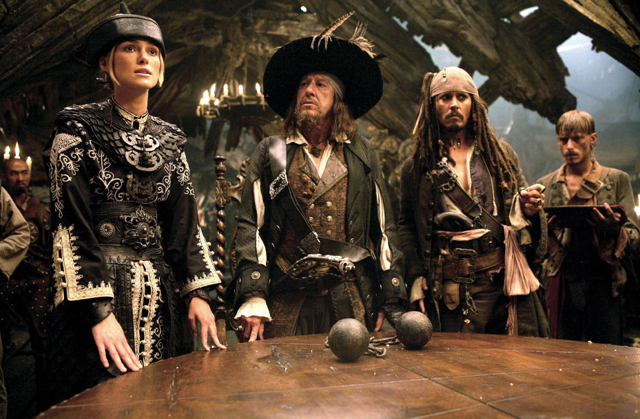 Scene from Pirates Of The Caribbean