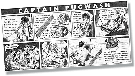 Captain Pugwash Cartoon Strip