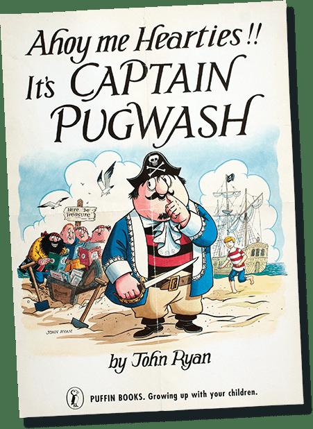Captain Pugwash Book Cover