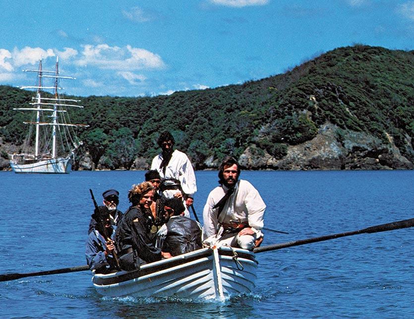 Savage Island Film Scene