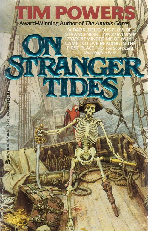 On Stranger Tides Book Cover