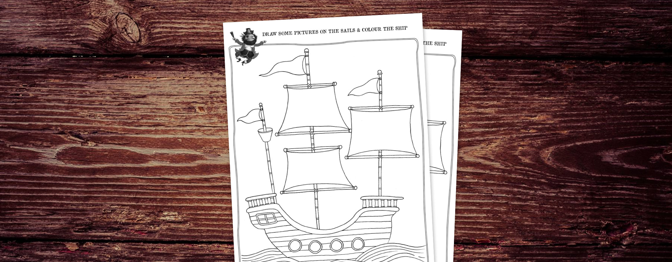 Decorate Your Pirate Ship