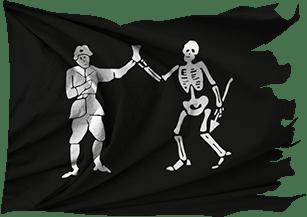 Flag of Bartholomew Roberts (Black Bart)