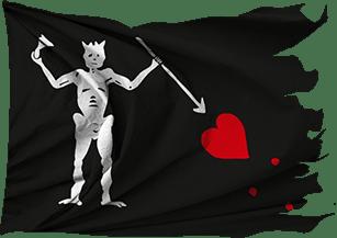 Flag of Edward Teach (Blackbeard)