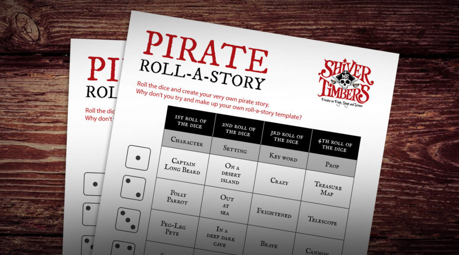Pirate Roll-A-Story